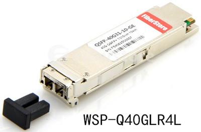 WSP-Q40GLR4L, a 40GBASE-LR4L QSFP+ transceiver