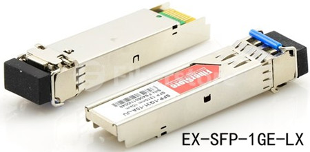 EX-SFP-1GE-LX, SFP de fibra única