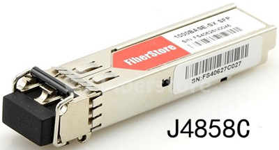 HP 1000BASE-SX SFP optical transceiver