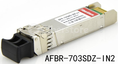 AFBR-703SDZ-IN2, 10GBASE-SR SFP+ fiber optic module