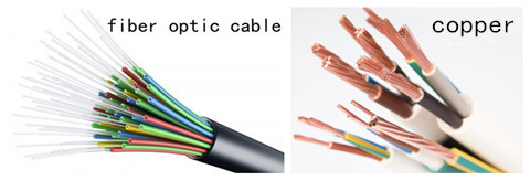 copper vs fiber optic cables An optical fiber cable, also known as a fiber optic cable, is an assembly similar to  an electrical  the colour code used above resembles pe copper cables used  in standard telephone wiring in the uk the colour  jump up ^ single-mode vs.