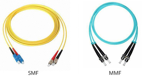 single-mode vs. multi-mode fiber